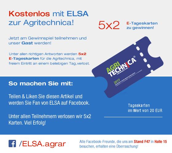ELSA auf der Agritechnica